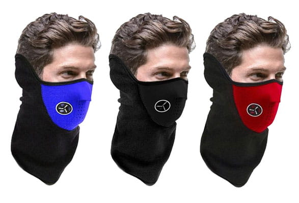 neoprene snowboard face mask