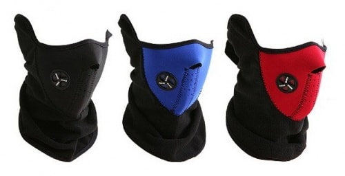 snowboard face mask 3 colors